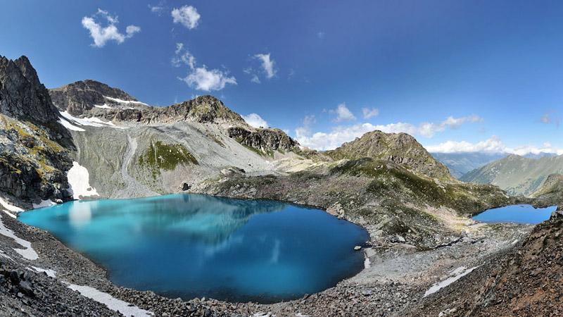 Сокровища Северного Кавказа: озёра Архыза