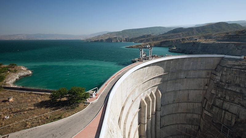 Сокровища Северного Кавказа: Чиркейское водохранилище