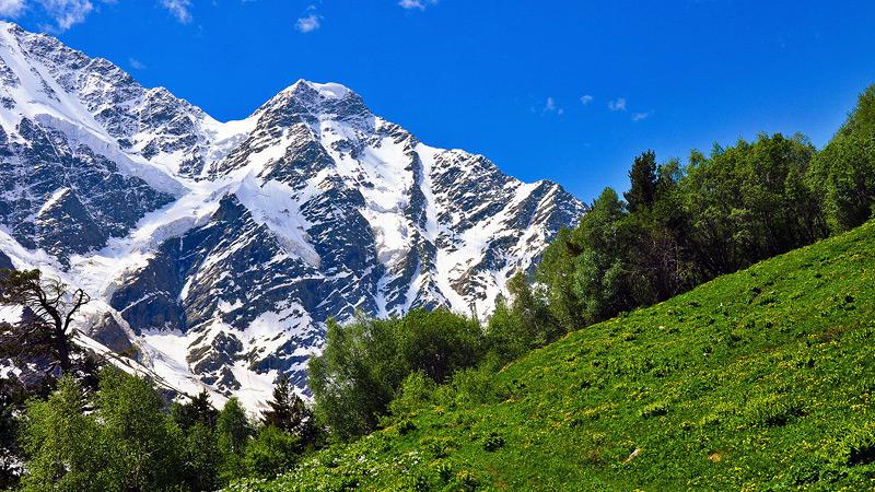 Сокровища Северного Кавказа: горы Домбая
