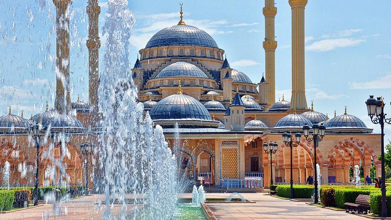 Сокровища Северного Кавказа: Мечеть «Сердце Чечни» в Грозном