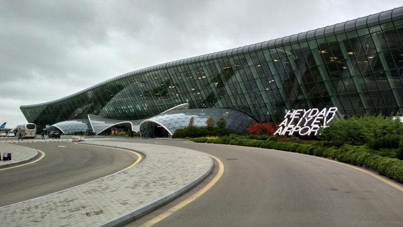 Аэропорт имени Гейдара Алиева, Баку, Азербайджан