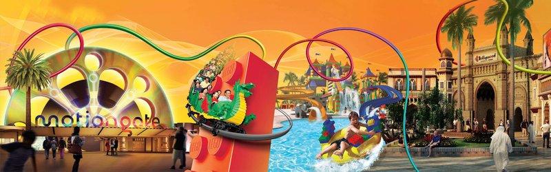 DUBAI PARKS AND RESORTS - парк удивительных развлечений для всей семьи!