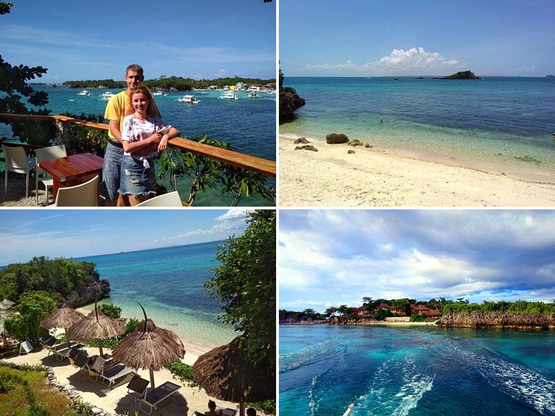 На берегу у нашего отеля Tepanee Beach Resort 4*