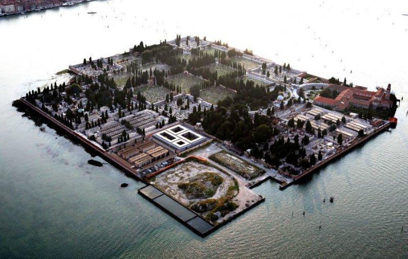Италия, Венеция, Остров Сан-Микеле