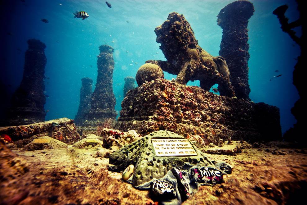 США. Риф Атлантиды. Первое подводное кладбище в мире