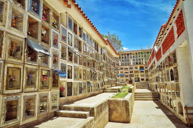 Боливия. Главное Кладбище Сукре