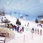 горнолыжный комплекс Mall of the Emirates