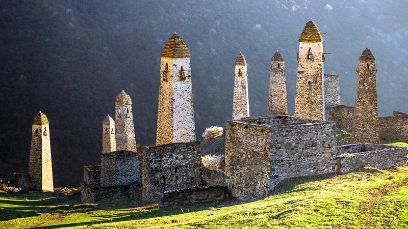 Сокровища Северного Кавказа: Башни Ингушетии