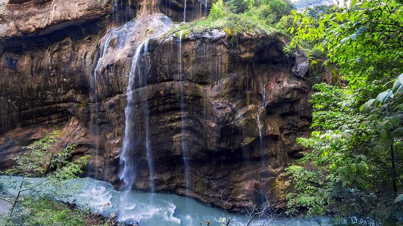 Сокровища Северного Кавказа: Чегемские водопады