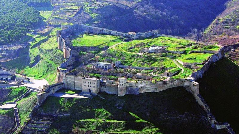 Сокровища Северного Кавказа: Крепость Нарын-Кала в Дербенте, Дагестан