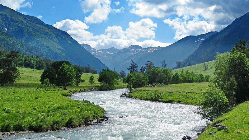 Сокровища Северного Кавказа: реки и долины Теберды