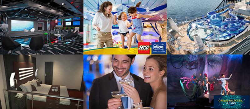 Современные круизные лайнеры MSC Cruises – это настоящие фешенебельные отели-курорты!