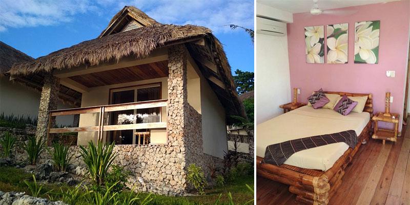 Наш домик в отеле Tepanee Beach Resort 4*