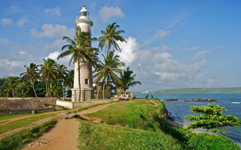 Маяк Галле на Шри-Ланке