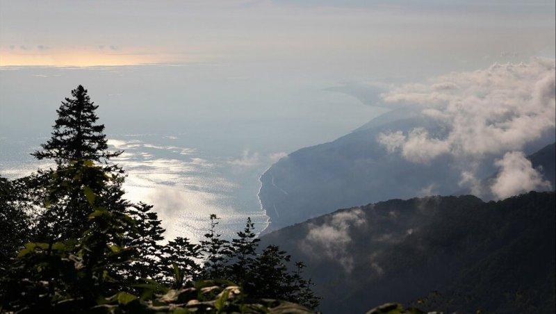 вид с горы Мамдзышха